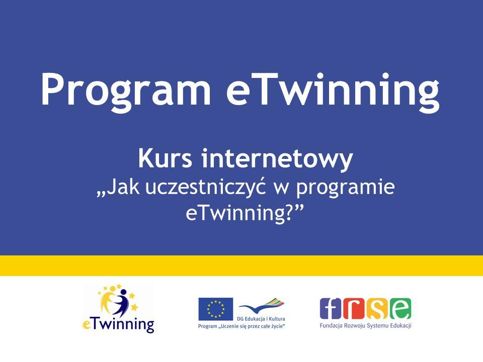 """Kurs internetowy """"Jak uczestniczyć w programie eTwinning"""