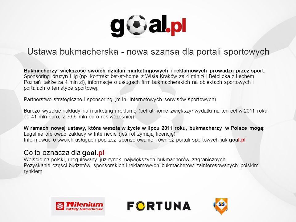 Ustawa bukmacherska - nowa szansa dla portali sportowych