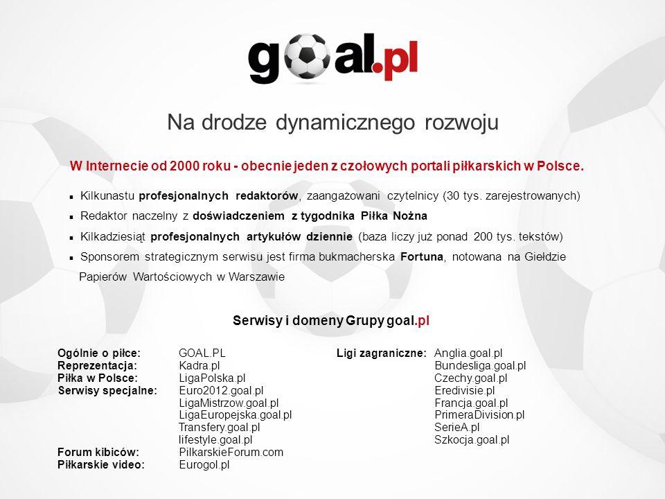 Serwisy i domeny Grupy goal.pl