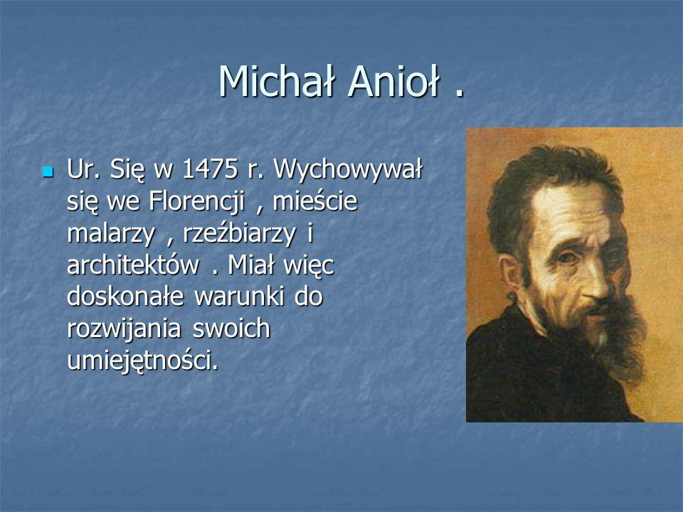 Michał Anioł .