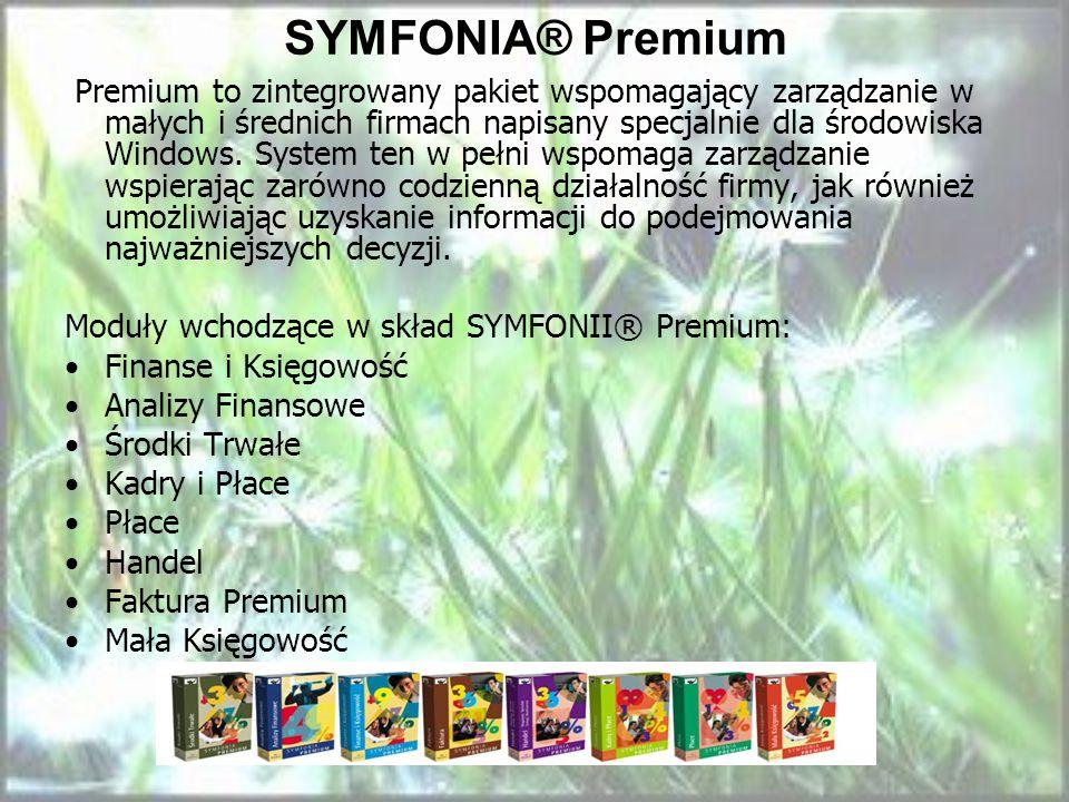 SYMFONIA® Premium