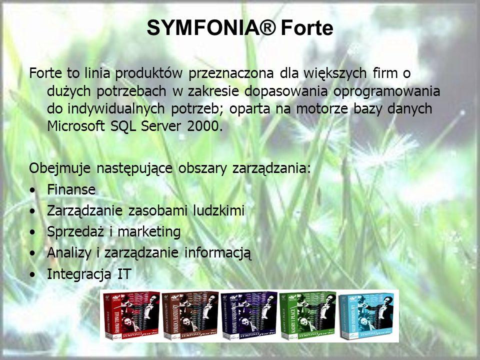 SYMFONIA® Forte