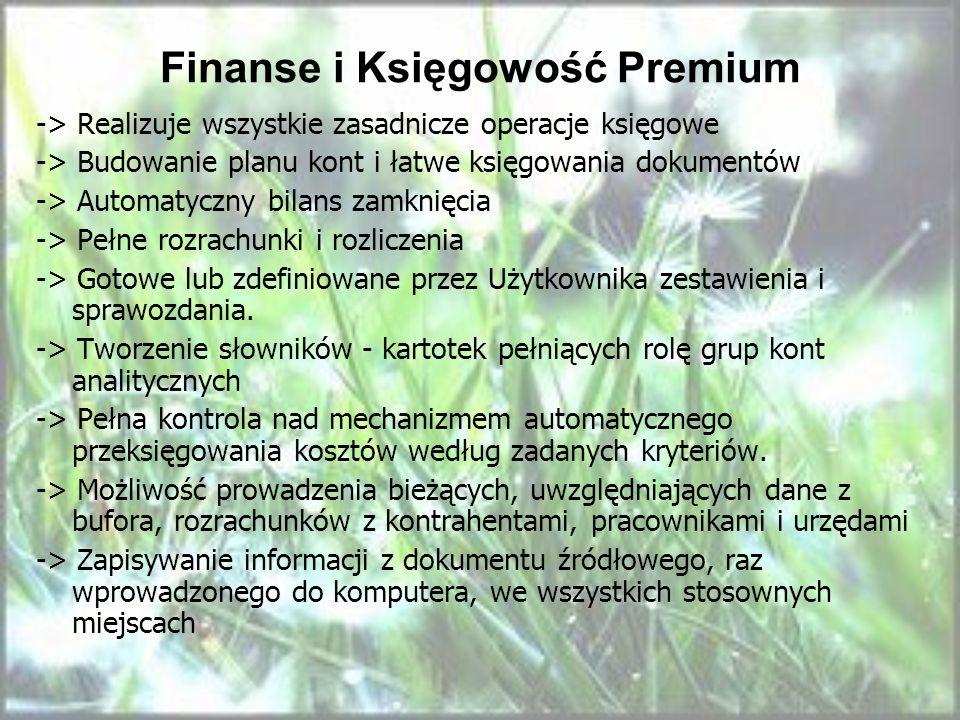 Finanse i Księgowość Premium