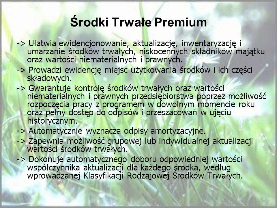 Środki Trwałe Premium