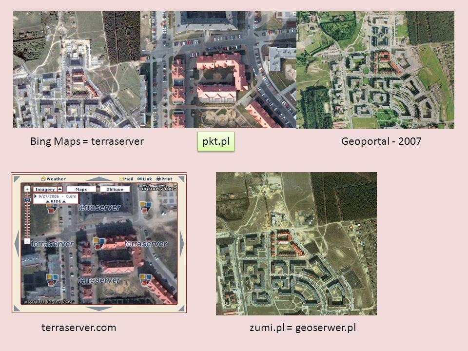 Bing Maps = terraserver