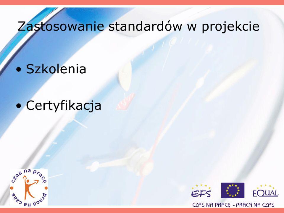Zastosowanie standardów w projekcie