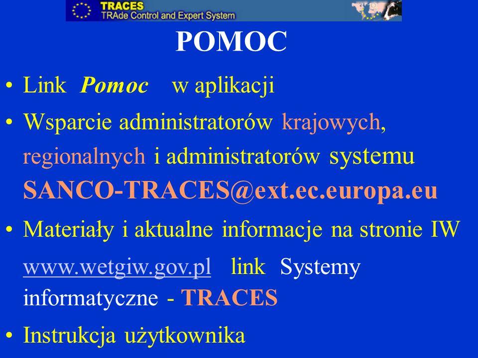 POMOC Link Pomoc w aplikacji