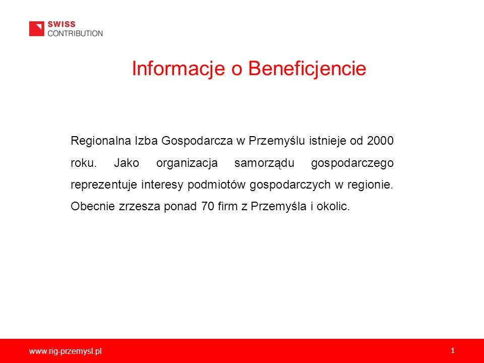Informacje o Beneficjencie