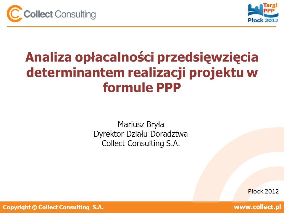 Mariusz Bryła Dyrektor Działu Doradztwa Collect Consulting S.A.