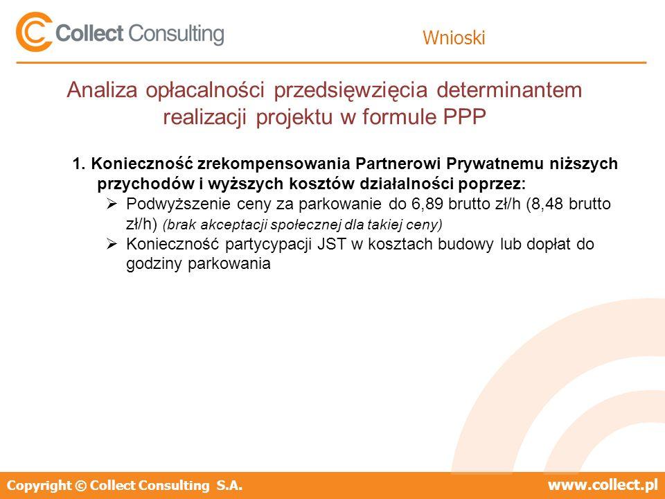 WnioskiAnaliza opłacalności przedsięwzięcia determinantem realizacji projektu w formule PPP.