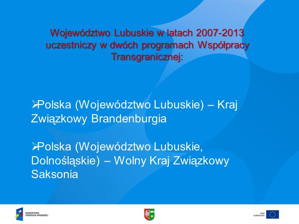 Polska (Województwo Lubuskie) – Kraj Związkowy Brandenburgia