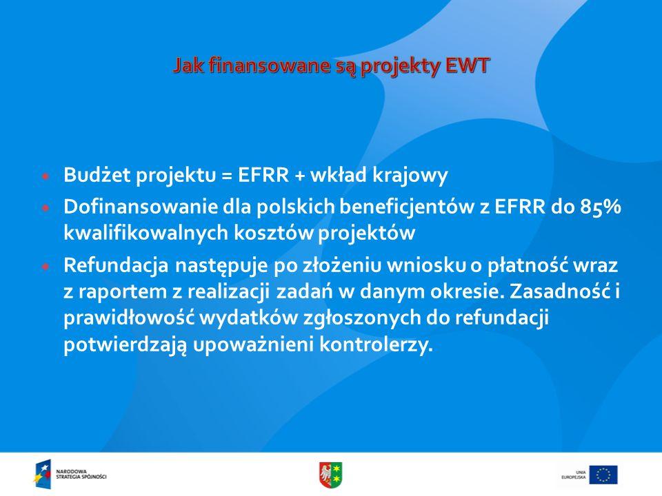 Jak finansowane są projekty EWT