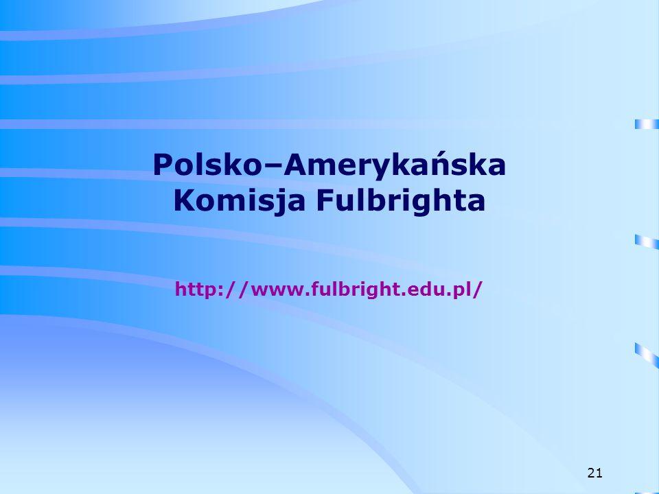 Polsko–Amerykańska Komisja Fulbrighta