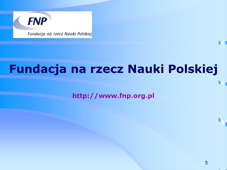Fundacja na rzecz Nauki Polskiej