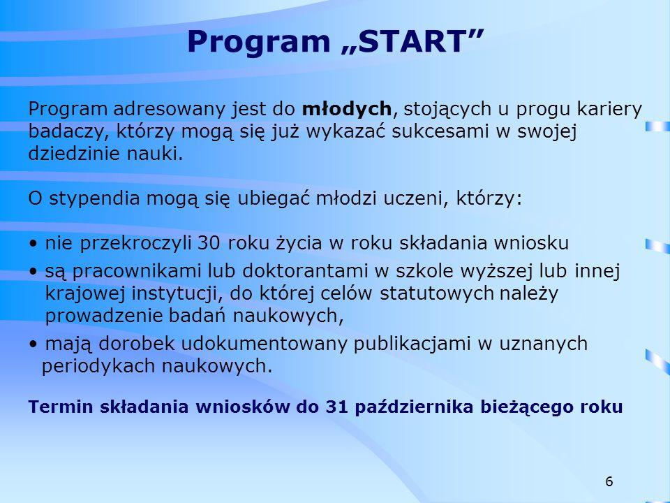 """Program """"START"""