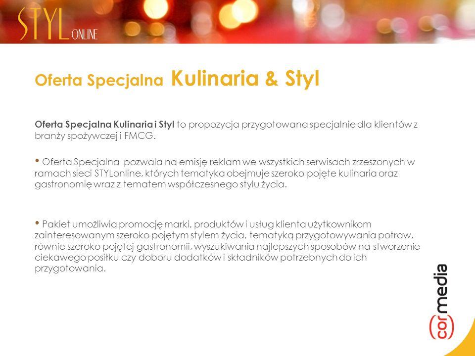 Oferta Specjalna Kulinaria & Styl