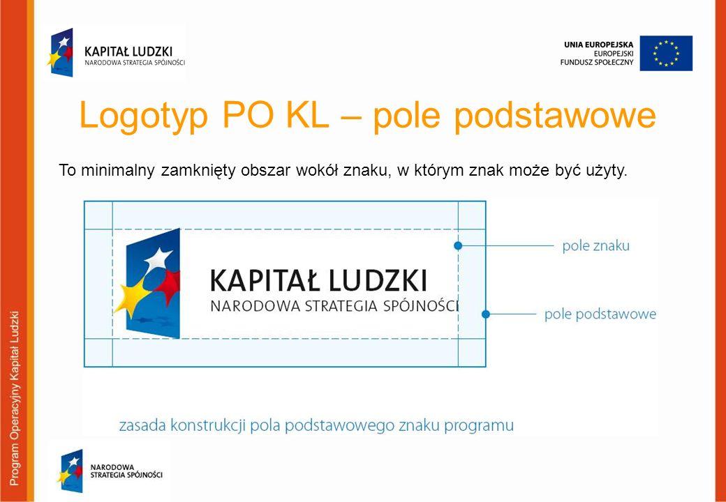 Logotyp PO KL – pole podstawowe
