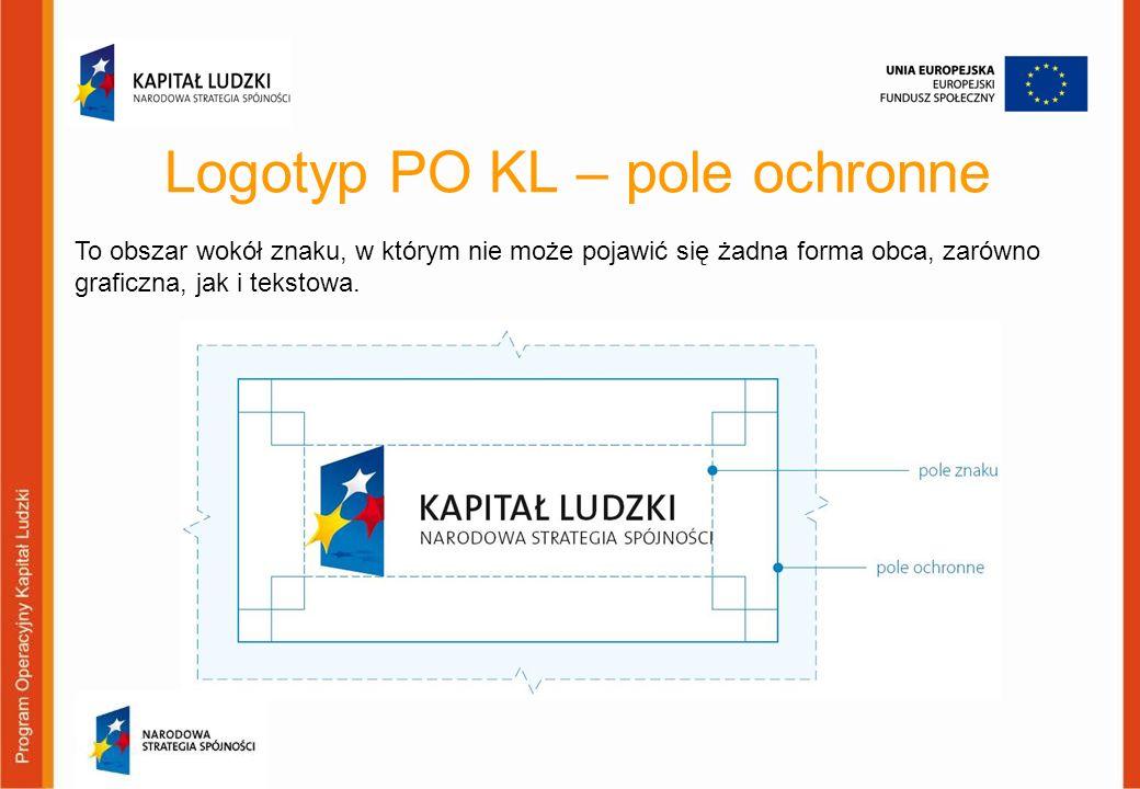 Logotyp PO KL – pole ochronne