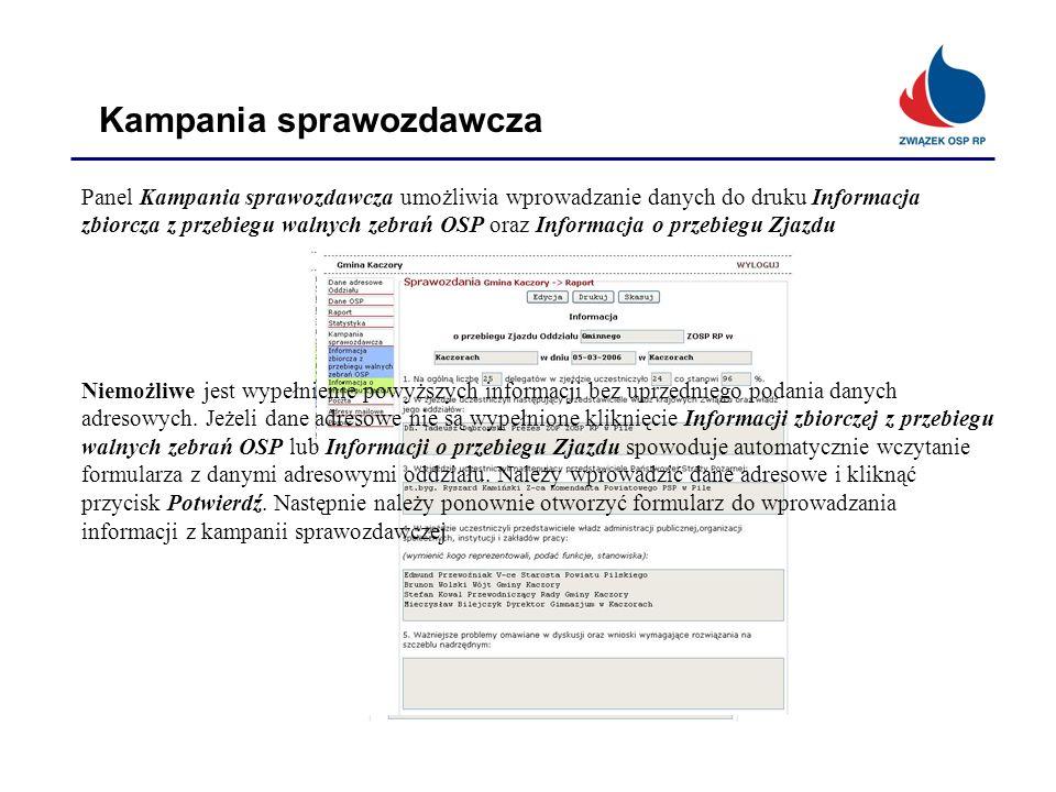 Kampania sprawozdawcza