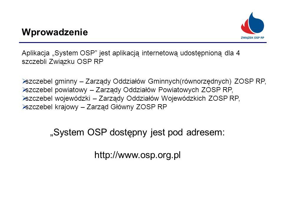 """System OSP dostępny jest pod adresem:"