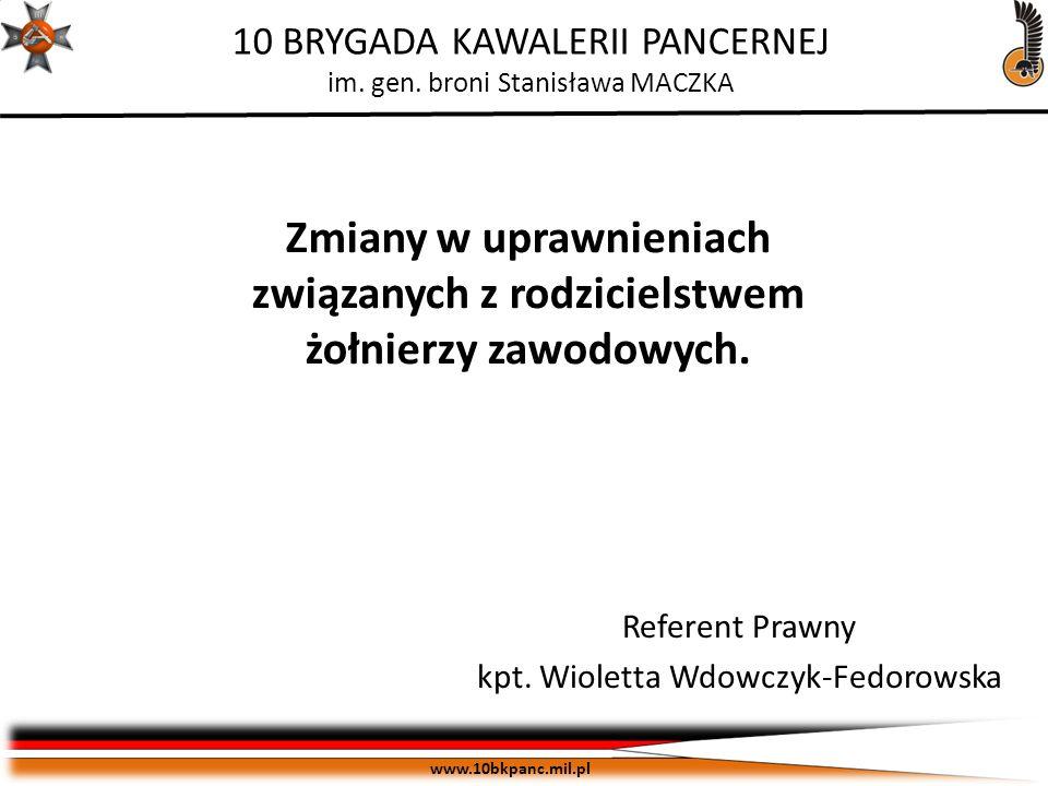 Referent Prawny kpt. Wioletta Wdowczyk-Fedorowska