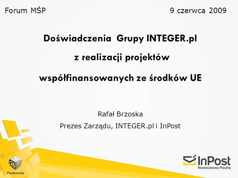 Forum MŚP 9 czerwca 20099.