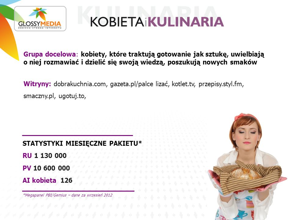 STATYSTYKI MIESIĘCZNE PAKIETU* RU 1 130 000 PV 10 600 000