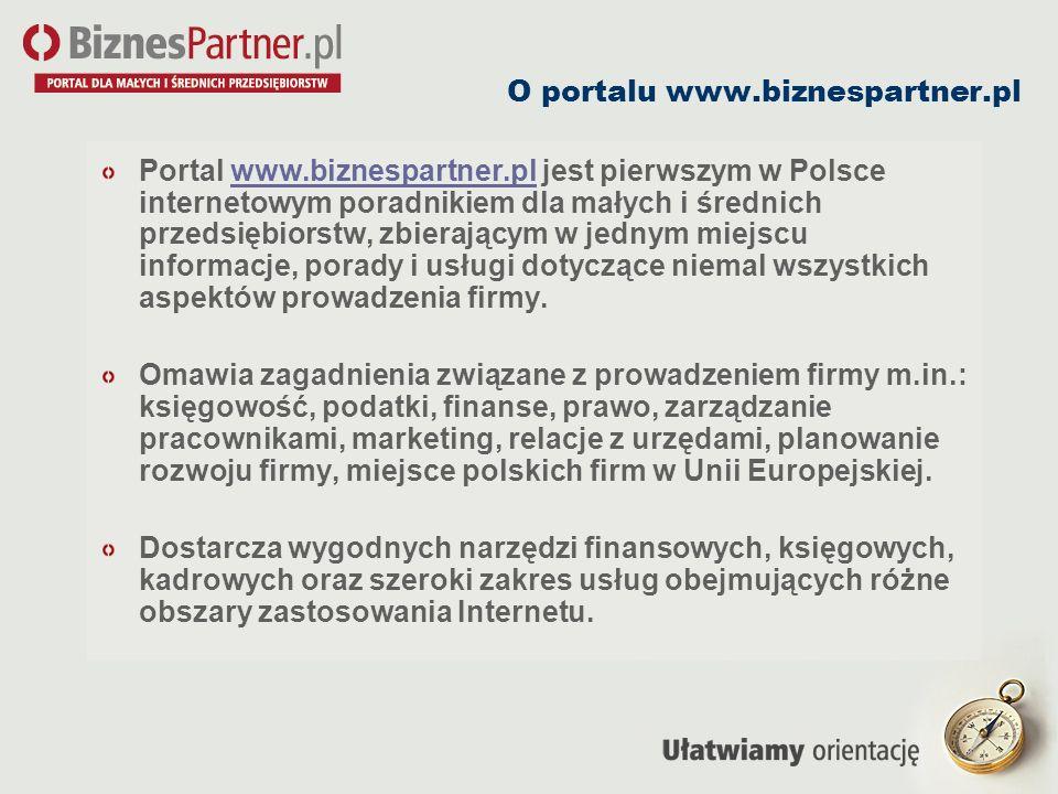 O portalu www.biznespartner.pl