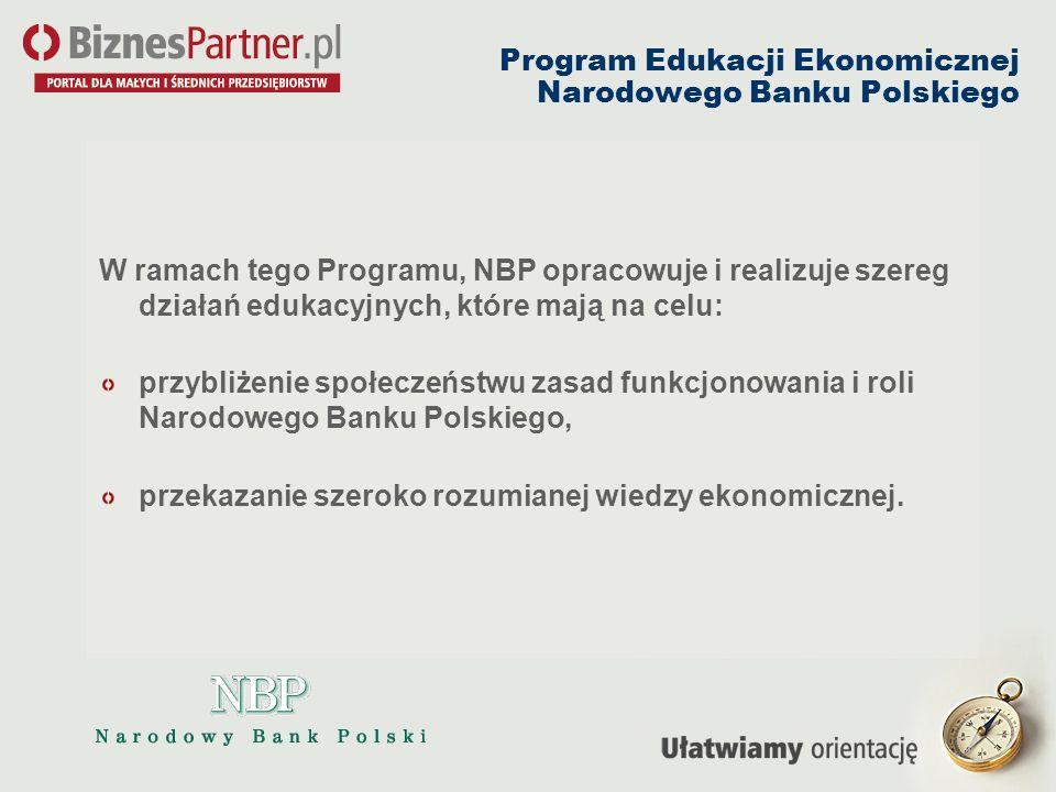 Program Edukacji Ekonomicznej Narodowego Banku Polskiego