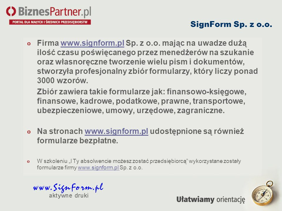 SignForm Sp. z o.o.