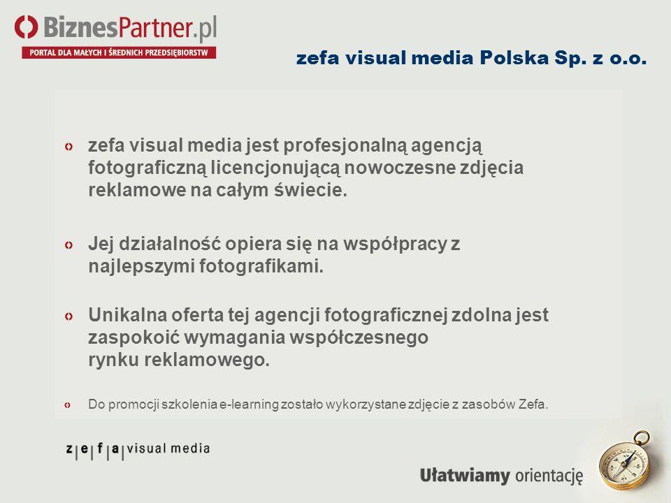 zefa visual media Polska Sp. z o.o.