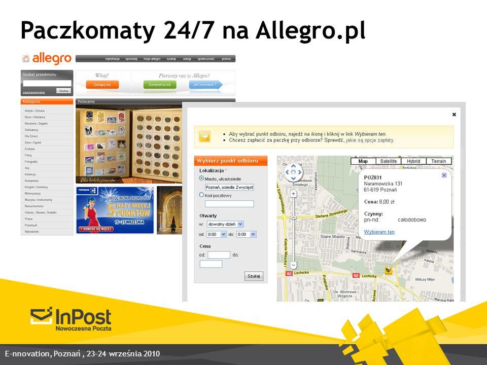 Paczkomaty 24/7 na Allegro.pl