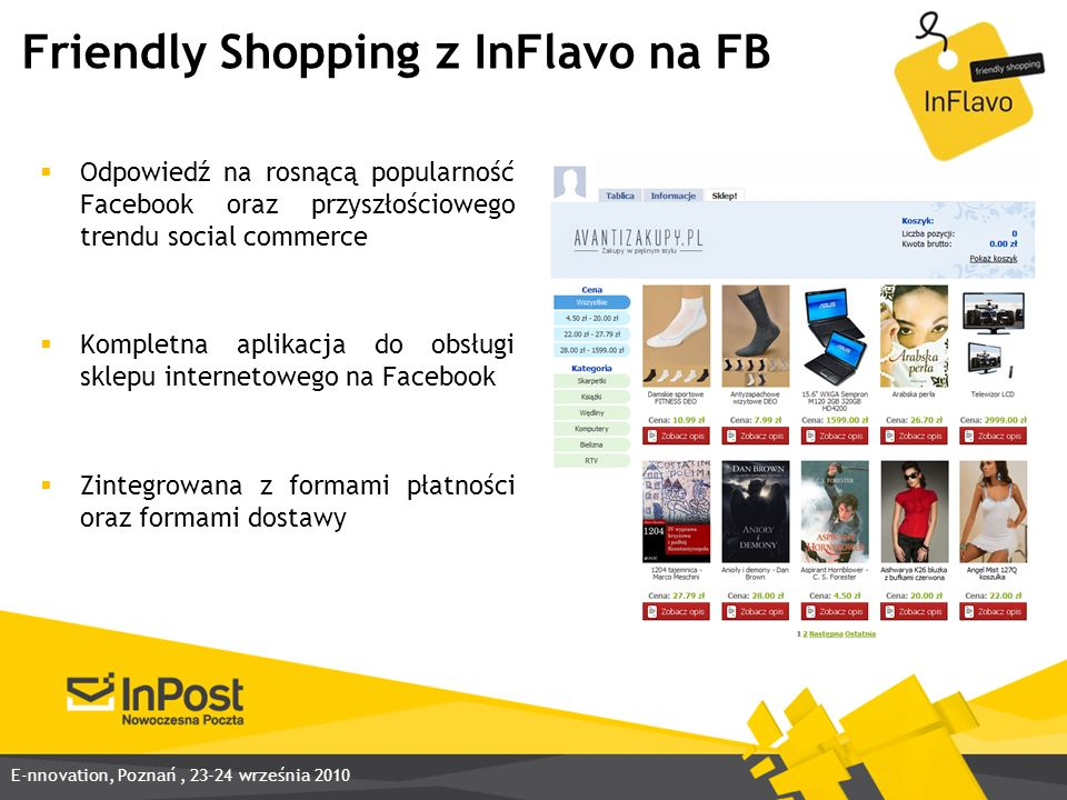 Friendly Shopping z InFlavo na FB