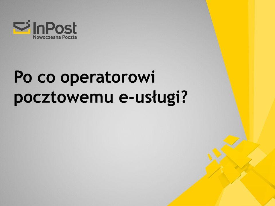 Po co operatorowi pocztowemu e-usługi