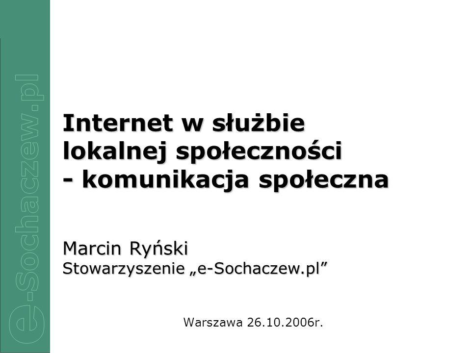 - komunikacja społeczna
