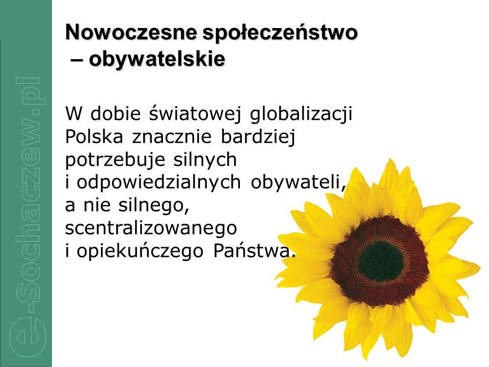 Nowoczesne społeczeństwo – obywatelskie