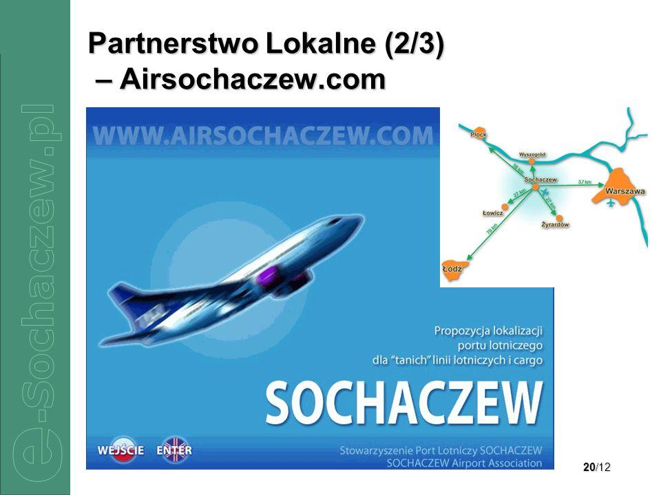 Partnerstwo Lokalne (2/3) – Airsochaczew.com