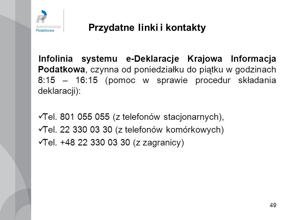 Przydatne linki i kontakty