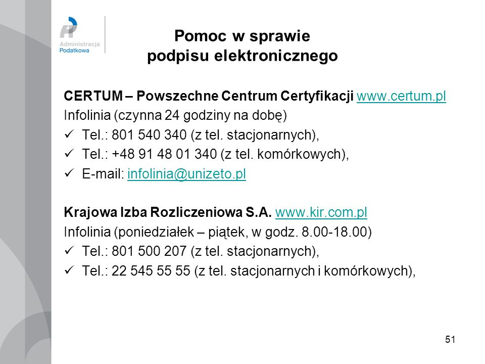 Pomoc w sprawie podpisu elektronicznego