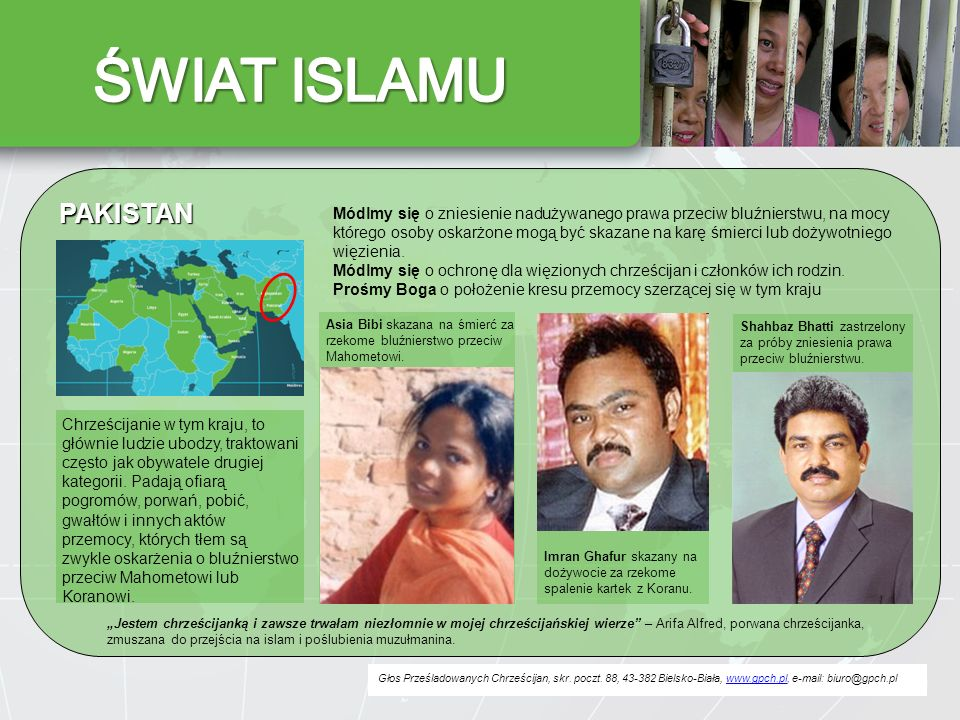 ŚWIAT ISLAMU PAKISTAN.