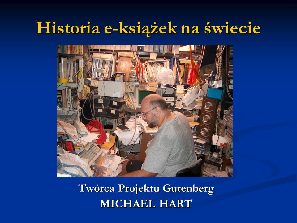 Historia e-książek na świecie