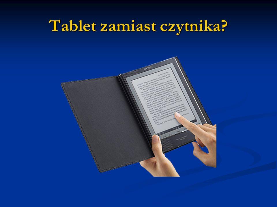 Tablet zamiast czytnika