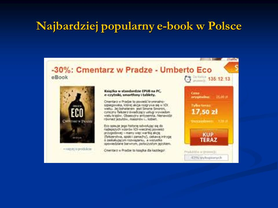 Najbardziej popularny e-book w Polsce