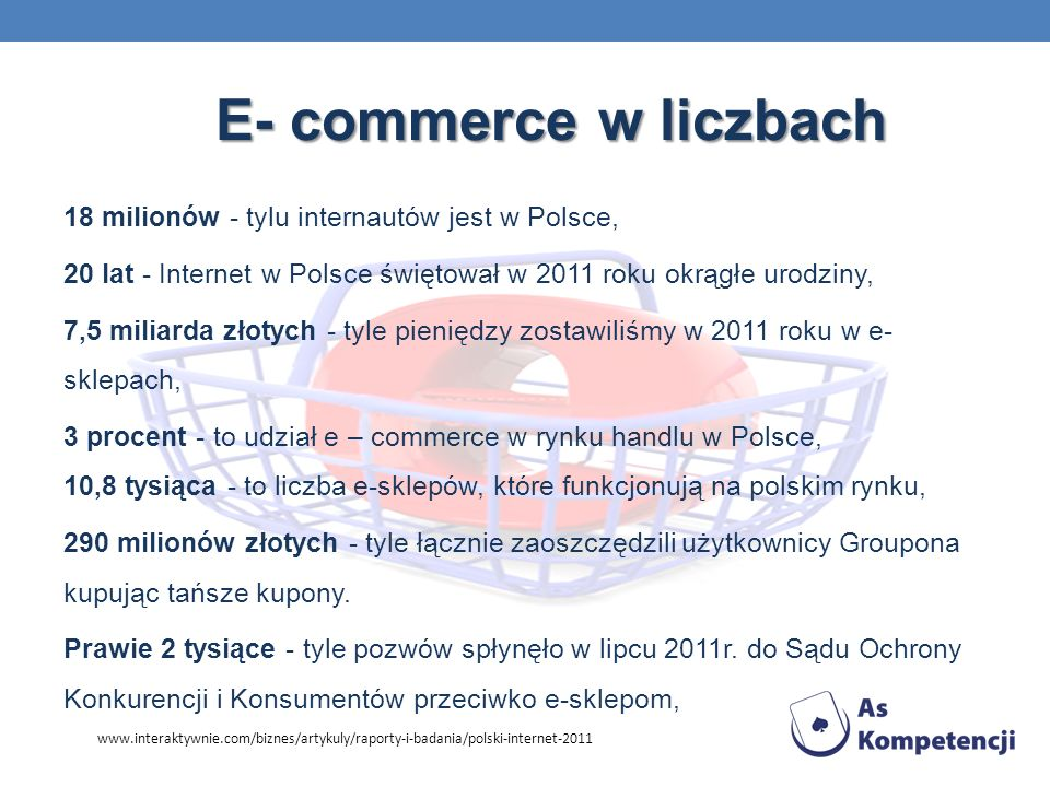 E- commerce w liczbach
