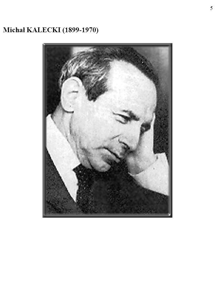 Michał KALECKI (1899-1970)