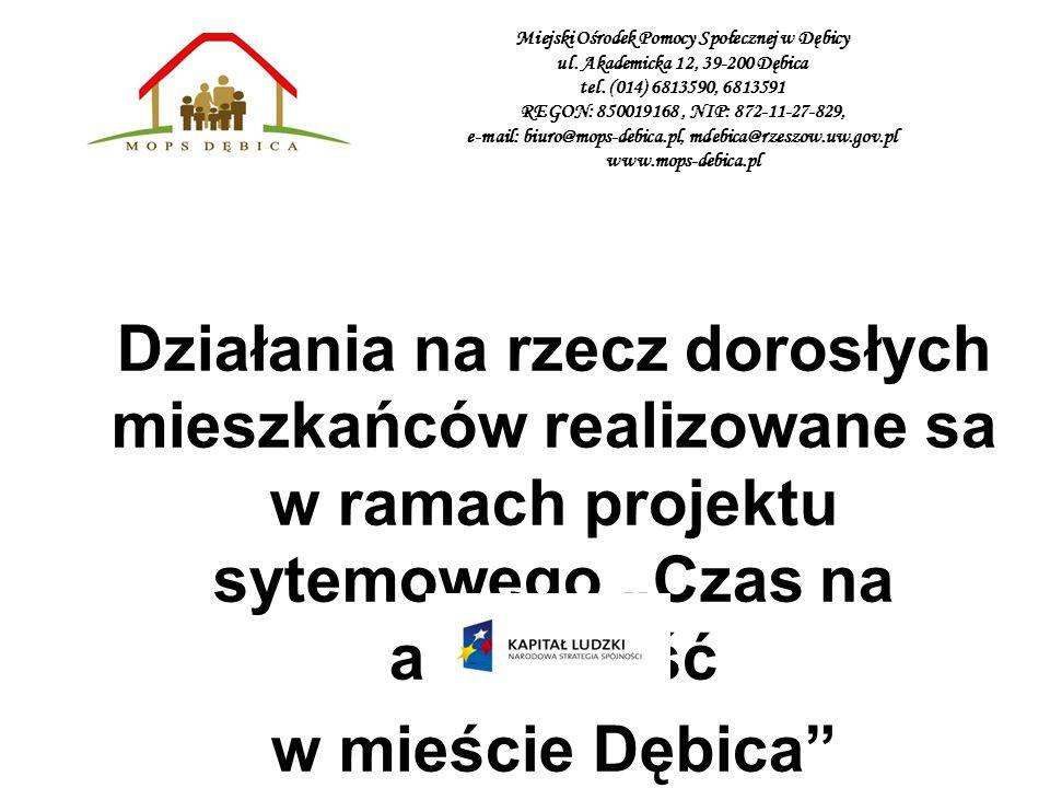 Miejski Ośrodek Pomocy Społecznej w Dębicy ul