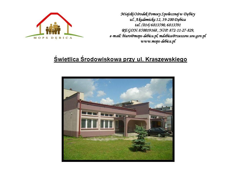 Świetlica Środowiskowa przy ul. Kraszewskiego