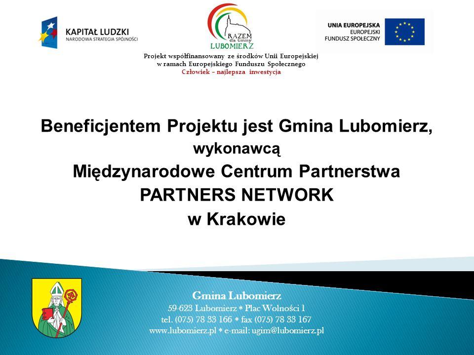Beneficjentem Projektu jest Gmina Lubomierz,