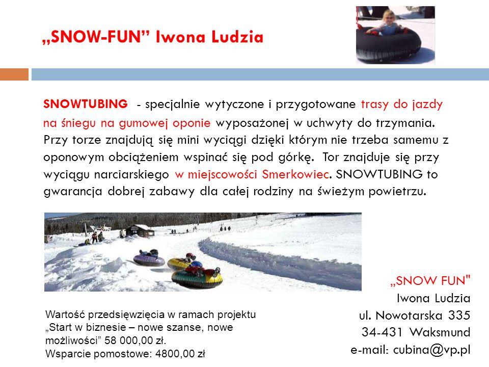 """SNOW-FUN Iwona Ludzia"