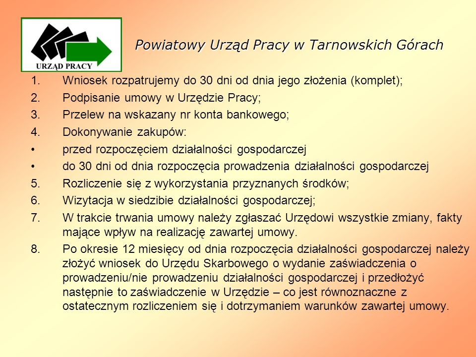 Powiatowy Urząd Pracy w Tarnowskich Górach
